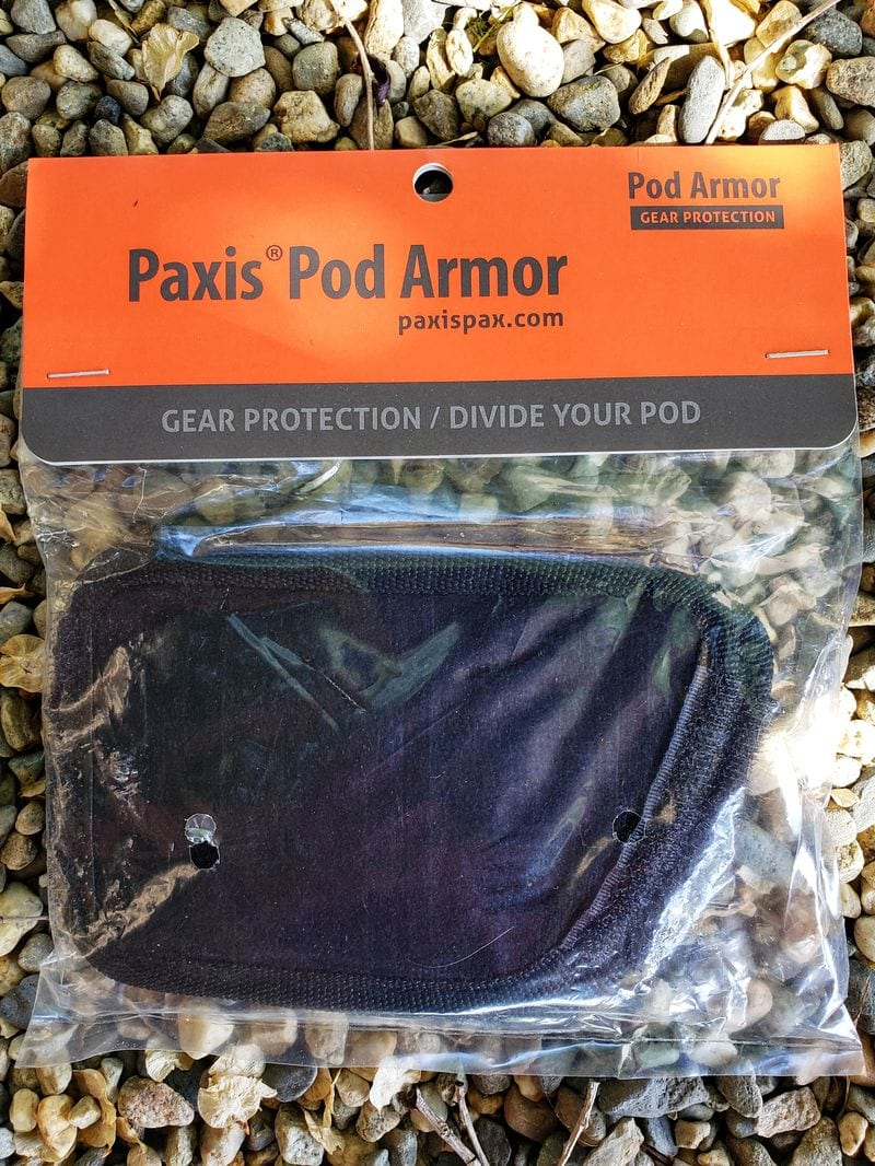 paxis pod armor for backpack pod