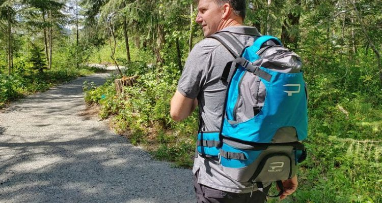 paxis swing arm backpack review in action
