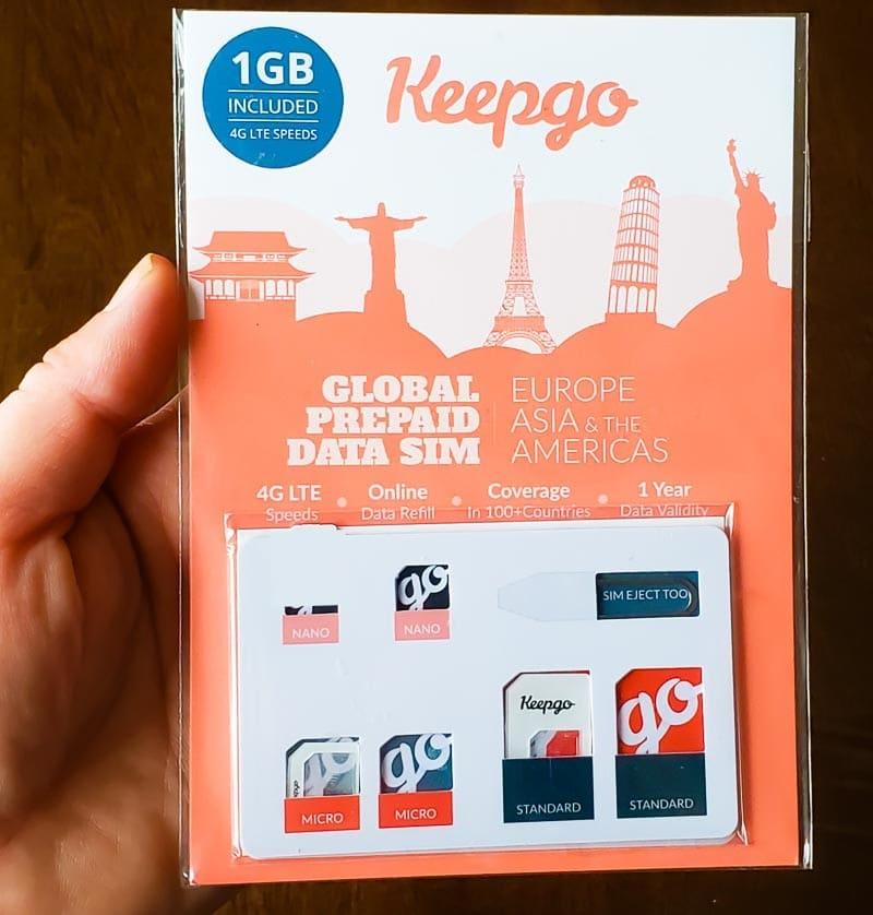 Keepgo data sim for travel Wi-Fi